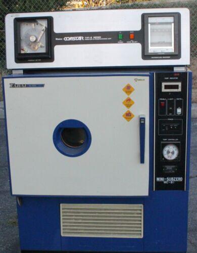 Tabai Espec MC-81 Mini-Subzero Ultralow Temperature Chamber -85°-180°C w/THP-811