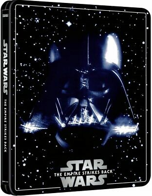Star Wars The Empire Strikes Back 4K UHD ZAVVI EXCLUSIVE Steelbook 3Disc Edition