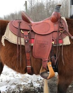 Ranch Saddle Billy Cook High Country Rancher
