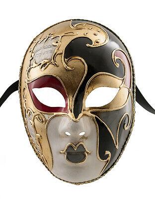Mask Venice Volto Musica Milo Black & Gold Craft 1359 VG21