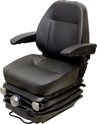 Caterpillar Motor Grader Vinyl Seat Suspension Replaces Oem 302-8813