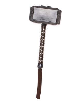 Thor Hammer, Mens Avengers: Endgame Mjolnir Hammer Costume Accessory