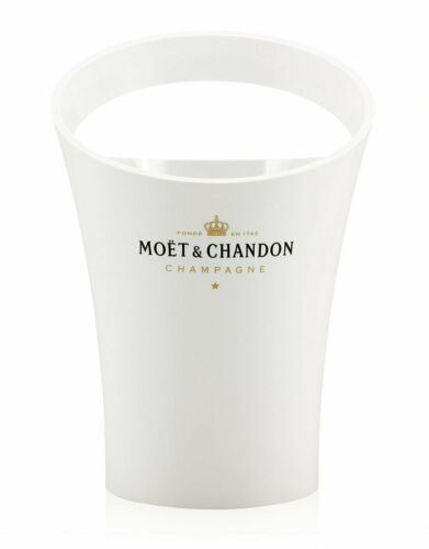 MC Moet Chandon Ice Imperial Champagne Magnum Acrylic Plastic White Ice Bucket