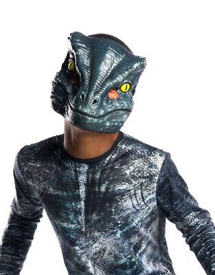 Kids/Adult Velociraptor Jurassic World II Blue Vacuform (Jurassic World Blue Kostüm)