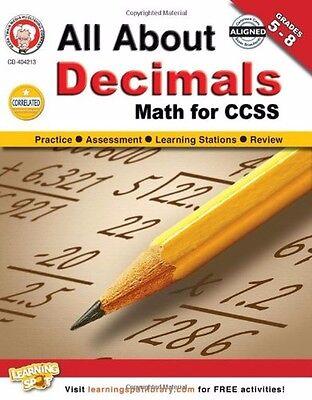 All About Decimals  Grades 5   8  Math For Ccss