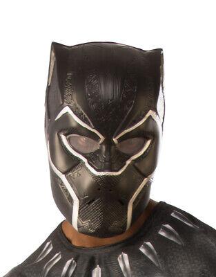 Mens Black Panther Movie 1/2 Face (Black Face Kostüm)