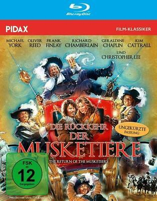 Blu-ray - Die Rückkehr der Musketiere - Abenteuer Alexandre Dumas - Pidax  ()