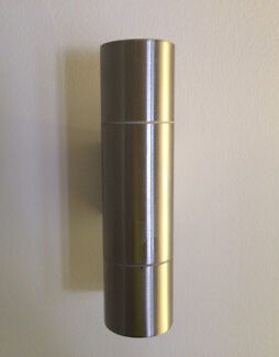 Stainless steel wall lights - new condition Golden Beach Caloundra Area Preview