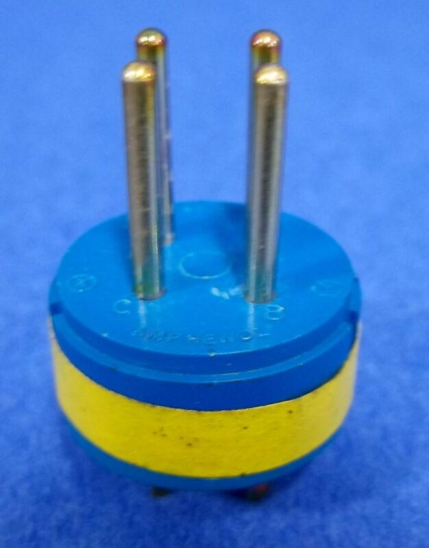 AMPHENOL CIRCULAR CONNECTOR 10-825811-04P 4 PIN NNB