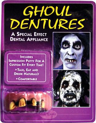 Morris Costumes Big Bubba Ghoul Rotten Teeth Dentures Appliance. - Big White Teeth Halloween