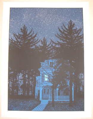 2008 The Haunted Fish Tank - Silkscreen Art Print S/N by Dan McCarthy Poster