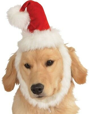 Haustier Mädchen Junge Hund Katze Weihnachtsmann Hut Kostüm Kleid Kostüm Outfit
