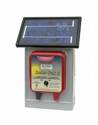 Parker Mccrory Df-sp-li 6v Solarbattery Operated Electric Fence Charger