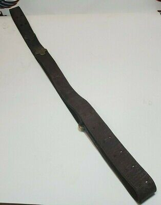 CHICAGO BELTING COMPANY MODEL 1903/1907 LEATHER RIFLE SLING (CP1072465)
