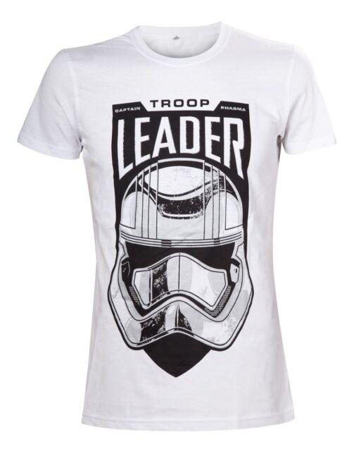 Star Wars The Force Awakens Leader Stormtrooper T-Shirt Men's Short Sleeve Top