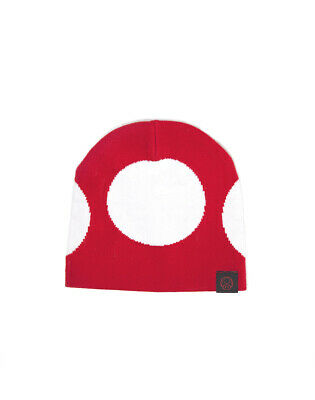 Nintendo - Super Mario Red Mushroom Beanie Mütze NEU COOL ()