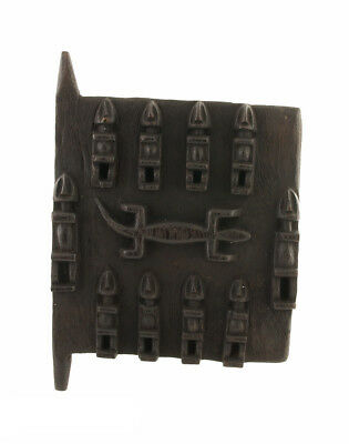 Door Dogon of Attic in Mil Mali 31x 29 cm Art African Peterandclo DG6