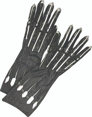 Black Panther Movie - Deluxe Gloves (Child and Adult Sizes) ()