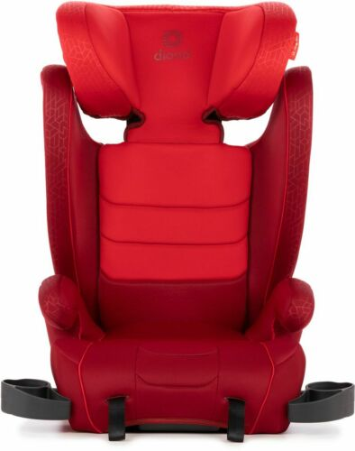 Diono Monterey XT Adjustable Headrest Child Safety Booster Car Seat Red