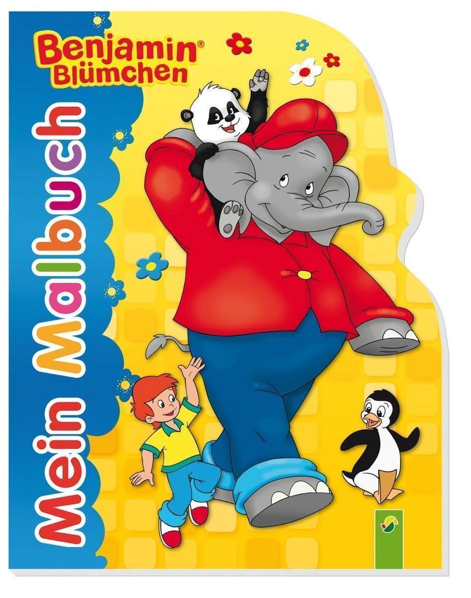 Benjamin Blümchen Mein Malbuch 2015 Taschenbuch Ebay