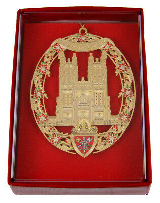 (6030226 Christmas Ornament The National Cathedral Church President G H W Bush)