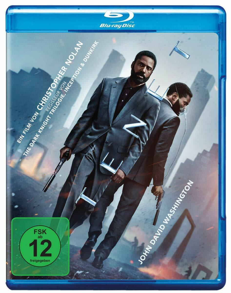 *OVP* Tenet [Blu-ray + Bonus] von Christopher Nolan mit John David Washington