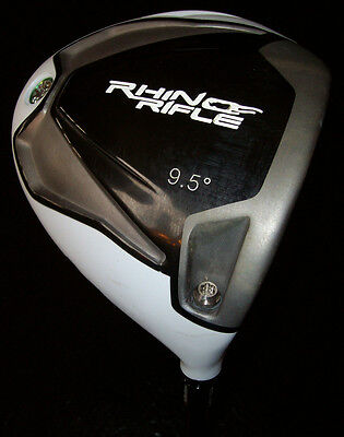 RHINO RIFLE ALL TITANIUM DRIVER 9.5 LOFT ACER VELOCITY SHAFT STIFF