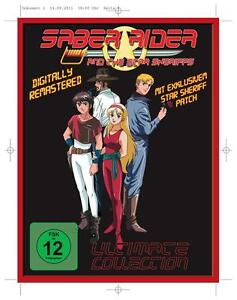 Saber Rider and the Star Sheriffs - The Ultimate Collection, DVD, Neu, mit Patch