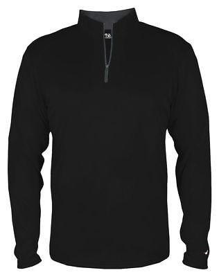 Badger Sportswear Men's Polyester Moisture Management 1/4 Zip Pullover. 4102