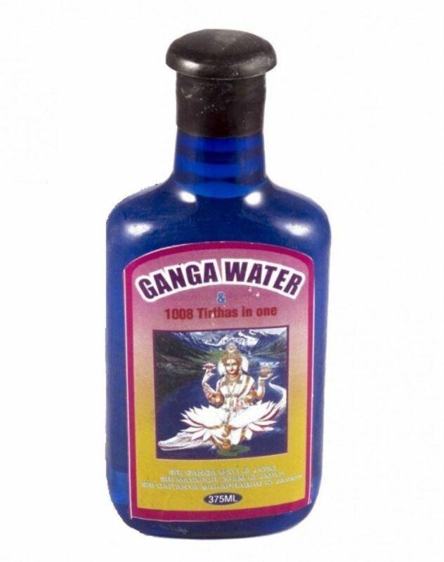 Pure Ganga Jal Gangajal Holy Water 375 ml Positive energy religious ceremony