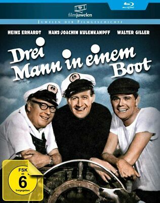Drei Mann in einem Boot (Heinz Erhardt, Walter Giller) Blu-ray Disc NEU + OVP!