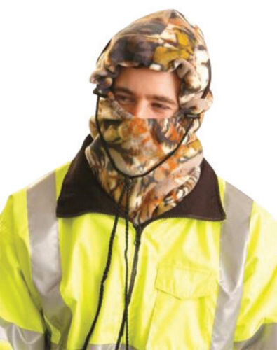 OccuNomix Hot Rods 3 in 1 Camo Polyester Fleece Balaclava Winter Liner