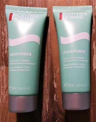 BIOTHERM Homme Aquapower Ultra Hydratant Gesichtsgel, 40 ml NEU