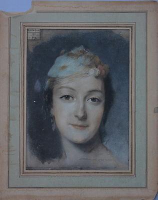 Bildnis einer jungen Frau - Ecole de Dessin 1849  Faksimile