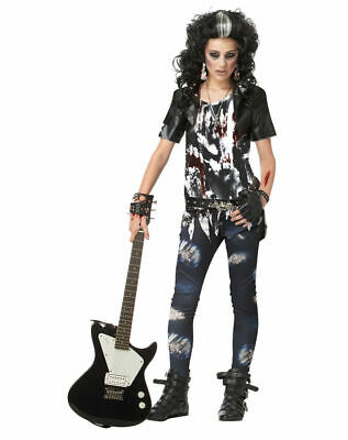 Rock Out Costume (CALIFORNIA COSTUMES COLLECTIONS Girls Rocked Out Zombie Costume Size)