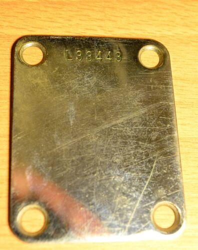 1963 / 1964 Fender Jazz / Stratocaster Neck Plate.