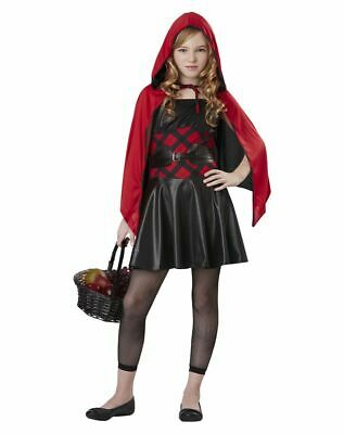 Red Riding Hood Costume Teenager (Classic  LITTLE RED RIDING HOOD HALLOWEEN COSPLAY COSTUME NEW 12-14 TEEN)