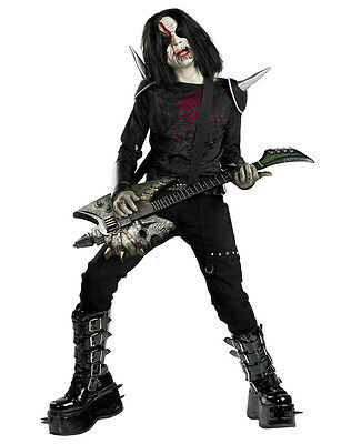 Metal Mayhem Child Costume Large (Metal Mayhem Kostüme)