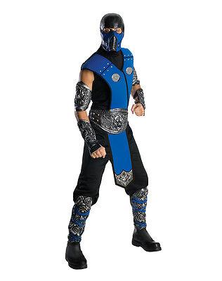 Mortal Kombat - Sub Zero Adult - Mortal Kombat Sub Zero Kostüm