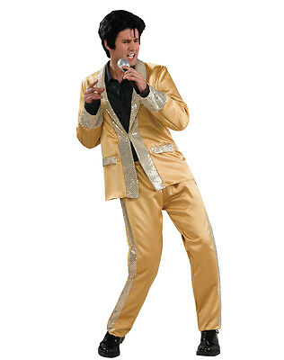 Elvis Presley Gold / Adult Male Costume