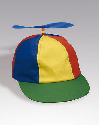 Adult Clowns (ADULT PROPELLER BEANIE HAT CLOWN COSTUME BASEBALL COPTER HELICOPTER BALL CAP)