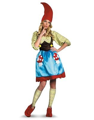 Mrs. Gnome Women Costume-Large ( Fits Dress Size 12-14 )](Mrs Gnome Costume)