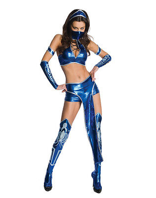 Mortal Kombat - Sexy Kitana Adult Costume - Womens Mortal Kombat Costumes