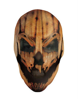 Maniac Pumpkin Nylon Mask for Halloween