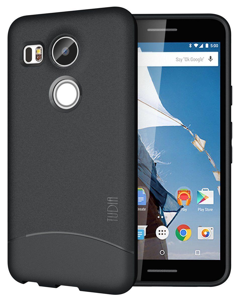 TUDIA Full Matte ARCH TPU Bumper Protective Cover Case for Nexus 5X