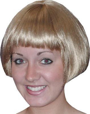Morris Costumes Women's Short Eve Honey Blonde Wig. -