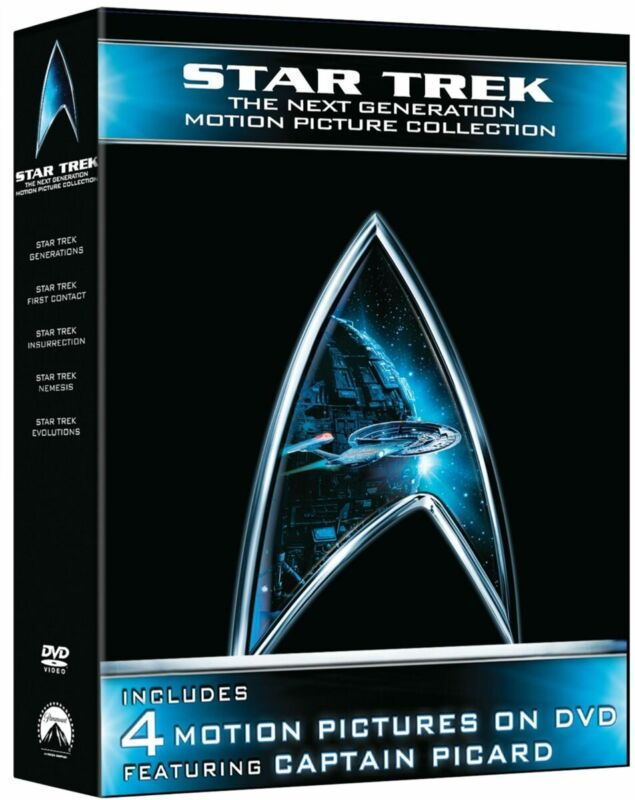 Star Trek Next Generation Motion Picture Collection