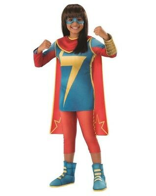Mädchen' Marvel Rising: Geheim Krieger Ms.Marvel Luxus Kostüm Größe: