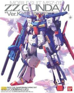 MG Master Grade MSZ-010 ZZ Gundam Ver.ka 1/100 model kit Bandai U.S. seller