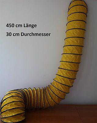Luftschlauch für Kondensationstrockner Ø 300 mm, Länge: 4,5 m